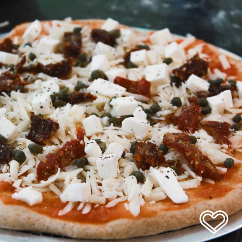 pizza alcaparras