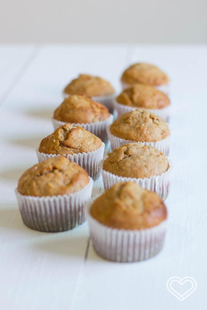 muffins de plátano / banana bread