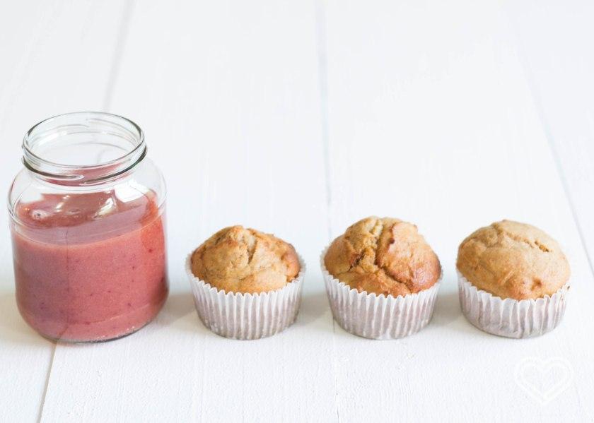 muffins plátano / banana bread