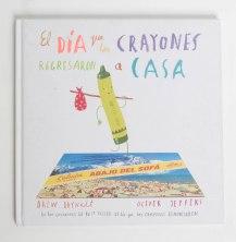 libro los crayones regresan (1 de 1)