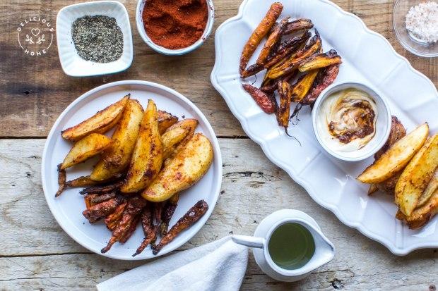 papas en gajos y zanahorias 1 (1 de 1)